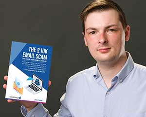 Book Launch: The £10K Email Scam Headline Image