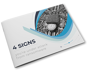 4 signs you're under attack from ransomware Headline Image